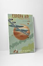 "Europa Air by Steve Thomas Gallery Wrapped Canvas 16""x20"""