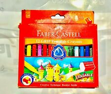 Color Pastels 12 Colors Erasable Pastels