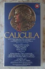 Caligula VHS Video Rare Pre Cert Peter O'Toole Helen Mirren