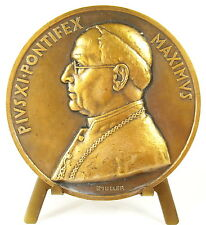 Médaille papale Vatican Pape Pope Papa Pie Pius Pio XI  Pontifex sc Muller Medal