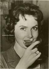 Orig.Photo, Miss Europa Margit Nünke in Stockholm, 1956