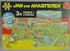 Jumbo Puzzle - Jan van Haasteren, Fußball - 500 - 750 - 1000 Teile
