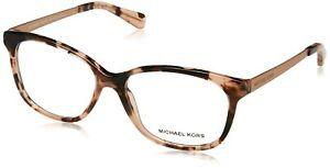 MICHAEL KORS Eyeglasses MK4035 AMBROSINE 3205 Pink Tortoise, 53/15/135