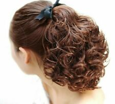 Curly Ponytail Extensions Hairpieces Heat Resistant Clip-in Synthetic Hair Weave
