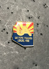 UA PLUMBERS PIPEFITTERS STEAMFITTERS  UNION LOCAL 469 Lapel Pin