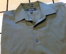 Kenneth Cole Mens Dress Shirt long sleeve, color green