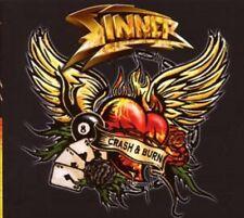 SINNER / CRASH & BURN - LIMITED EDITION * NEW CD 2008 * NEU