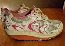 SKECHERS Shape Ups Breast Cancer Awareness Walking Women Athletic Shoes Sz 11 ~