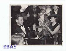 Herbert Marshall Gloria Swanson VINTAGE Photo candid 1936