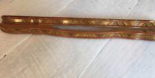 """Vintage Antique Hardware Wood MCM Art Deco Drawer Pull 18 1/2"""""""