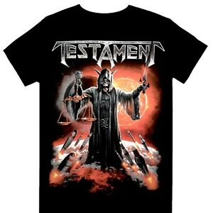 Testament - Titans Of Creation European Tour 2020 Official Licensed T-Shirt