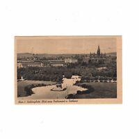 AK Ansichtskarte Wien / Heldenplatz / Blick zum Parlament und Rathaus - 1948