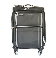 """28"""" FIB LIGHT WEIGHT 4 WHEEL TROLLEY SUITCASE LUGGAGE EXPENDABLE CHECK IN BLACK"""