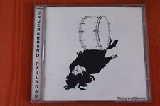 Underground Railroad – Sticks And Stones - 10 tracks Boitier neuf CD