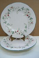 "Pfaltzgraff Christmas Winterberry 8"" Plates Set of 2"