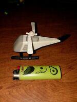 Vintage Tonka 1985 NASA USA 237 Tonka helicopter toy 1980's HTF Toy White/Black