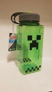 Minecraft 36oz Creeper Chug Bottle Zak! Minecraft Water Bottle