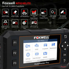 Foxwell NT624 Elite Full System OBD 2 Automotive Scanner EPB Oil Service Reset O