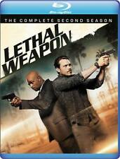 PREORDER: LETHAL WEAPON - COMPLETE SEASON 2  - BLU RAY - Sealed Region free