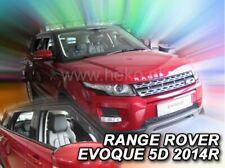 4 Deflettori Aria Antiturbo LAND ROVER Range Rover Evoque 2011 in poi 5 porte
