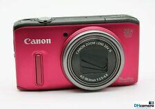 Canon PowerShot SX260 HS 12.1MP 3''Screen 20x Zoom Digital Camera Red