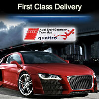 S Line Car Quattro Alloy High Quality Decal Emblems Sticker Fits For All Model