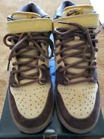 NIKE SB DUNK MID WHEAT SIZE 13