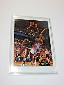 1992-93 STADIUM CLUB MEMBERS ONLY SHAQUILLE ONEAL  ROOKIE RC #201 Beautiful!