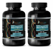 Candida Cleanse - ANTI-PARASITE COMPLEX - Total Body Detox 2 Bottles