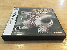 Pokemon Pearl Version Nintendo DS Original Case & Cover Art Only *NO GAME*