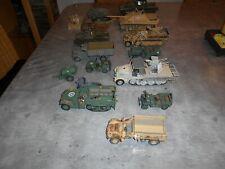 1:35 Modellbau konvolut (2), Panzer, Militärfahrzeuge, Ersatzteile, Diorama