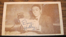 Wjpf Radio Station Postcard Marion Carbondale Herrin Illinois Signed Doug Hadley