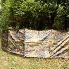Portable REALTREE CAMO Hunting Shooting Stealth Stalking GROUND BLIND & BAG