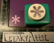 SNOWFLAKE FLOWER PAPER PUNCH CARL WINTER CREAKYATTIC