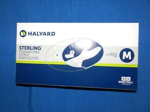 100Pcs/Box HALYARD Nitrile Gloves Non-Latex & Powder-Free SIZE MEDIUM