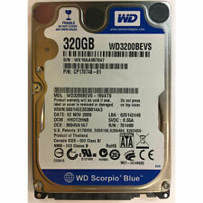 """Western Digital 320GB, 5400RPM, SATA, 2.5"""" - WD3200BEVS-16VAT0"""