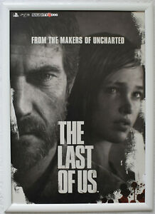 The Last Of Us RARE PS3 42cm x 59cm Promotional Poster #2