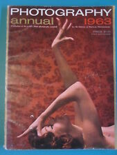 POPULAR PHOTOGRAPHY'S ANNUAL 1963 Annual Magazine Art Photos RARE
