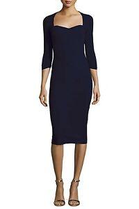 La Petite Robe Chiara Boni Serenity Sweetheart Dress 12/48 Italy- $845 Black