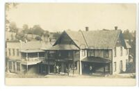 RPPC Store or Hotel in SHUNK PA Sullivan County Real Photo Postcard