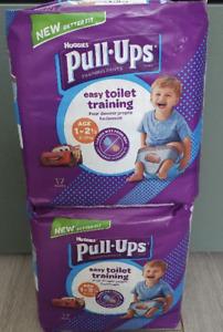 2 x Huggies Pull-Ups Boys Age 1-2.5 (8-17kg) 17 Pants