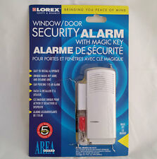 LOREX Loud siren WINDOW / DOOR SECURITY ALARM WITH MAGIC KEY, secure your Home