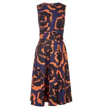 Hobbs, Twitchill dress, Navy and Orange, UK8, EU 36