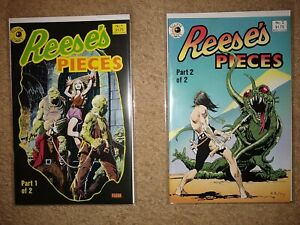 Lot of REESE'S PIECES #1, 2 Eclipse 1985 Near Mint