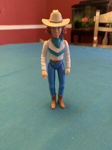 """Playskool Dollhouse 6"""" Western Lady Figure"""