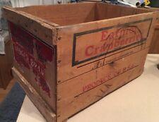"Vintage Wood Crate ~ Eatmor Wisconsin Cranberries 17"" L x 11"" W x 10"" H"
