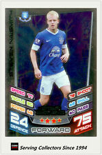 2012-13 Match Attax Star Signing Foil Card #384 Steven Naismith (Everton)