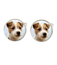 Jack Russell Terrier Dog Mens Cufflinks Fathers Birthday Gift C31