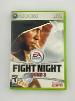 Fight Night Round 3 - Xbox 360 Game - Complete & Tested