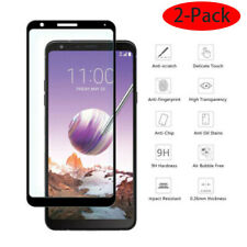 For LG Stylo 6 5 V40 V30 K40 G8 ThinQ Full Cover Tempered Glass Screen Protector